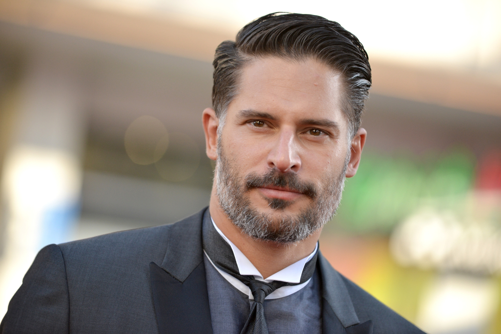 Description of . Joe Manganiello arrives at the Los Angeles premiere of the 7th and final season of