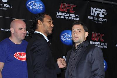 UFC 150 Press Conference