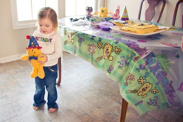 Haley's 3rd Birthday