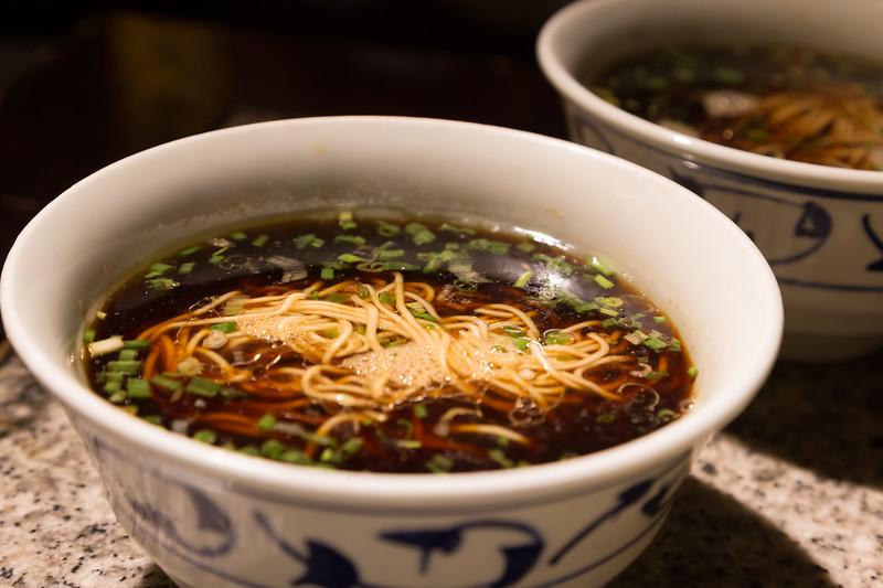 Beef noodle soup 牛肉湯麵