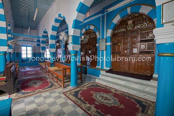 TUNISIA, Djerba, Hara Kebira. Synagogue Kebira (3.2016)