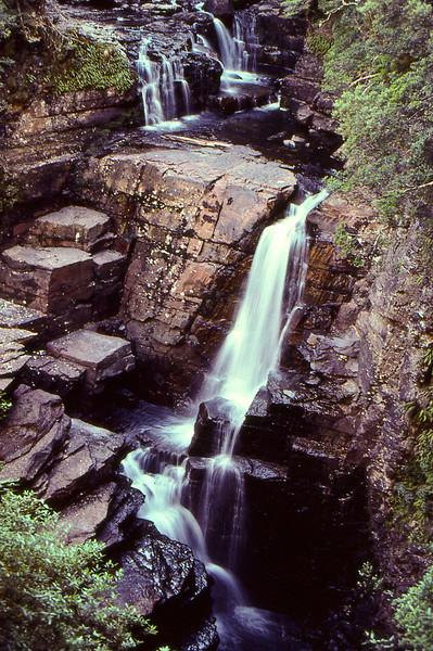 Cubist flow (Kodachrome scan from 80's.  Tasmania)