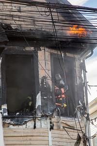 Park St. Fire (Bridgeport, CT) 9/28/17