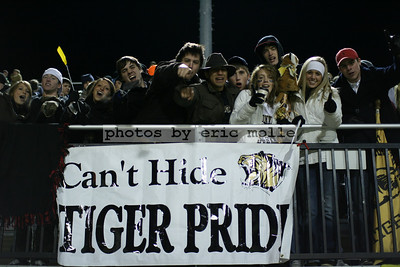 High School Football - 7A Playoffs, Round 2 - Bryant Hornets at Bentonville Tigers - 11/21/2008