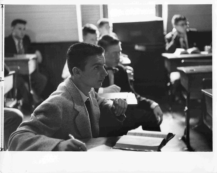A class in the old Schoolhouse, c. 1954