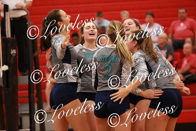 Volleyball vs SCHS  8/23/18