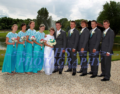 Stutzman-Miller Wedding Party