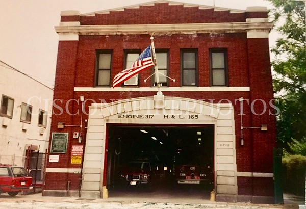 Engine 317 - Ladder 165 - Battalion 54