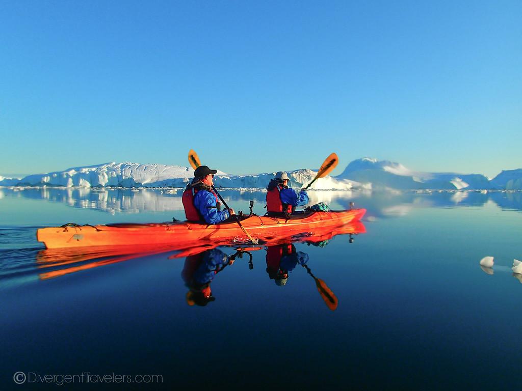 Greenland Kayaking - Ilulissat - Divergent Travelers