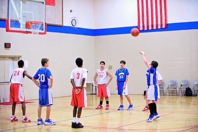 7th/8th Grade Basketball vs. Trinity-January 28, 2010