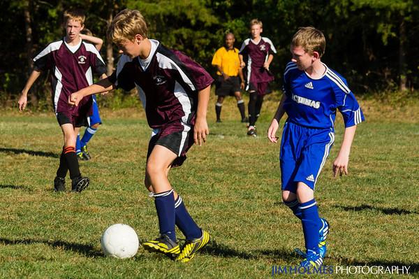 Aquinas Soccer 10-2-2013