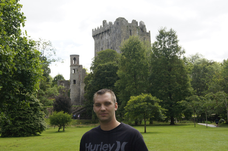 Jimmy at Blarney Castle.JPG