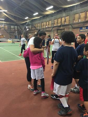 Trinity Tennis Clinic 2016