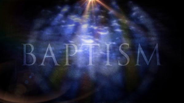 O2013F - Baptism