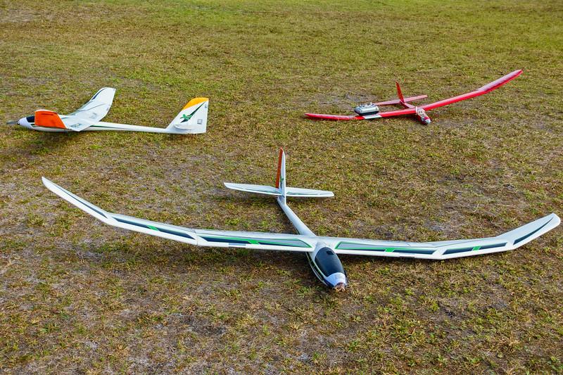 A few gliders, 2019