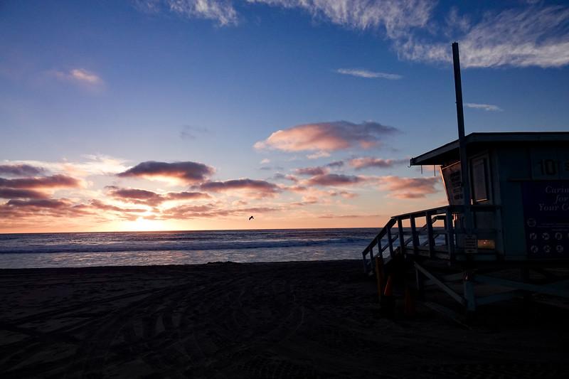 Sunset in Hermosa Beach