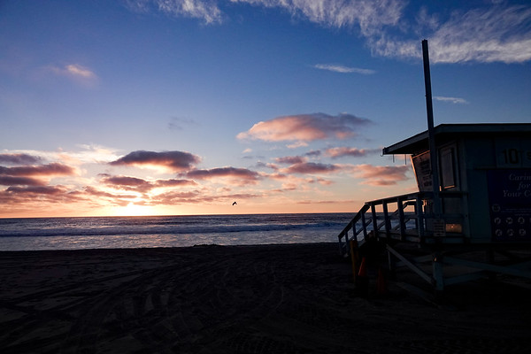 Sunset in Hermosa Beach