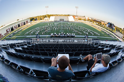 Marching Band Practice - 09/11/2012