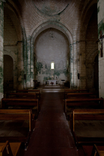 Bourg Charente, Saints Stephen and John the Baptist Church Apse