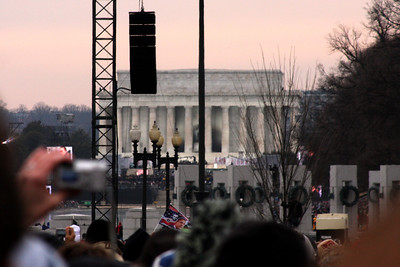 Obama's Inauguration: Concert at the Lincoln Memorial