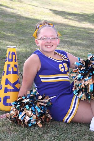 Claysburg Kimmel Mini Cheerleaders