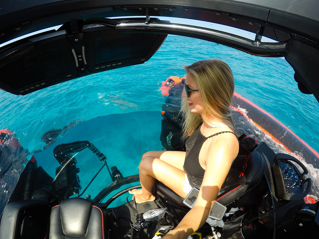 Crystal Esprit Submersible in the Seychelles