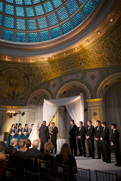Le Cape Weddings - Chicago Cultural Center Weddings - Kaylin and John - 014 Ceremony 65