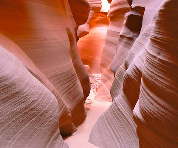 Arizona: slot canyons