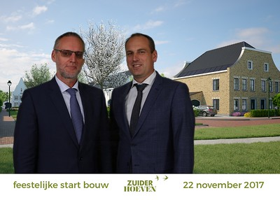 Zuiderhoeven, Start bouw 22 november 2017
