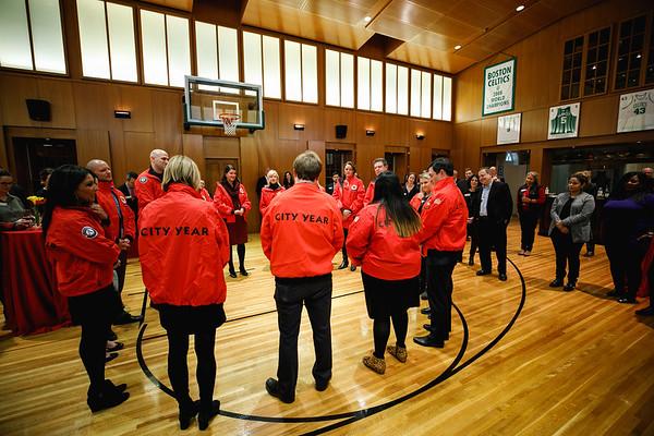 Jacket Dedication at the Edgerley's - Red Jacket Society 2018