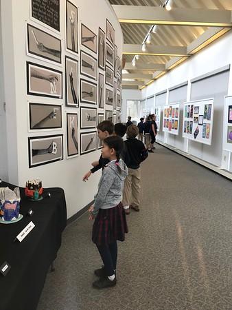 4th Grade - Arts Center Gallery, MS Art Exhibit
