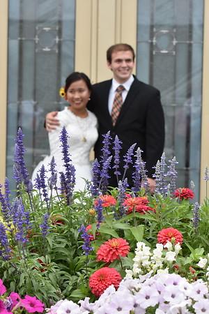 HOMER WEDDING COLUMBIA TEMPLE