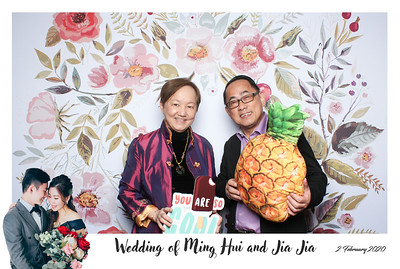 Ming Hui & Jia Jia 2 Feb 2020 Photobooth Album