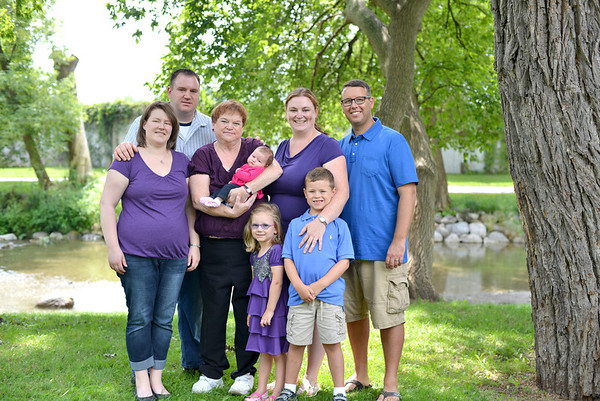 Tracy, Kevin and families