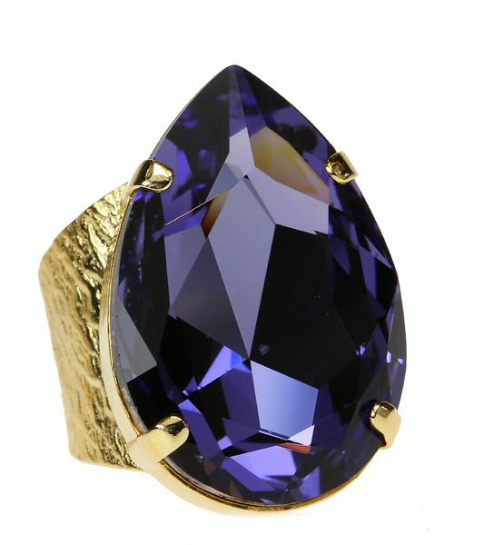 Perfect Drop Ring / Tanzanite