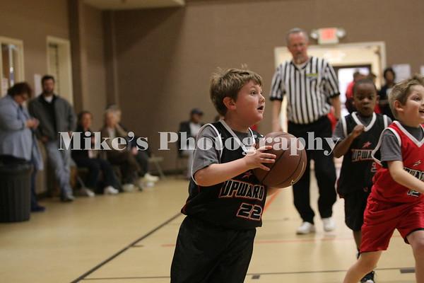 Upward Basketball Week 2 9:45 Game