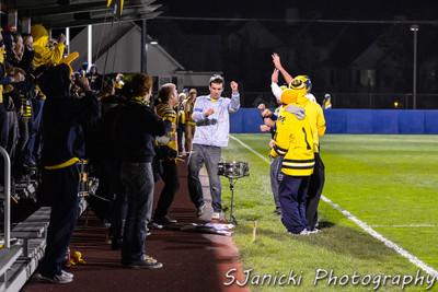 2nd Half - UM Men's Soccer Vs Penn State 10-6-12