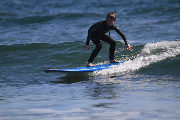 2014 04 13 Spencer and Cole - Father Son - San Diego Surfing Academy LLC