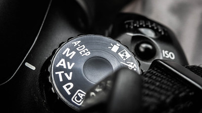 Mode Dial - Shutter Speed Priority - Canon