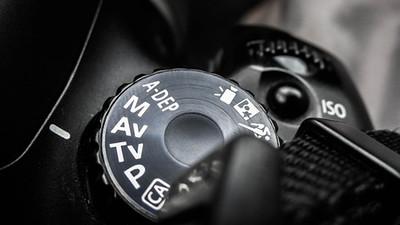 Mode Dial - Aperture Priority - Canon