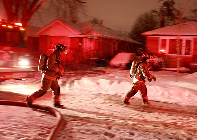 December 27, 2013 - Working Fire - 166 Chillery Ave