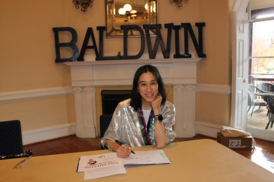 Author Eva Chen Visits the Lower School Library