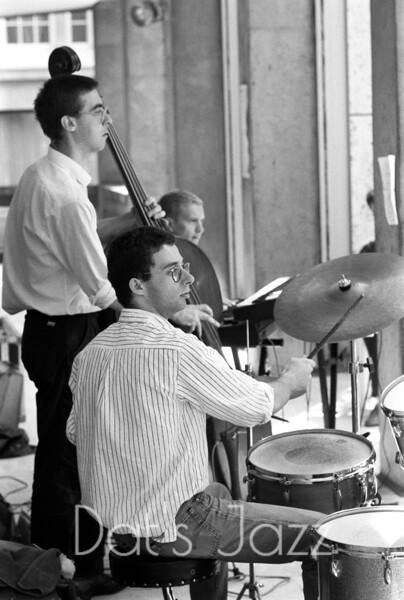 STEVE ARGUELLES, MICK HUTTON & DJANGO BATES