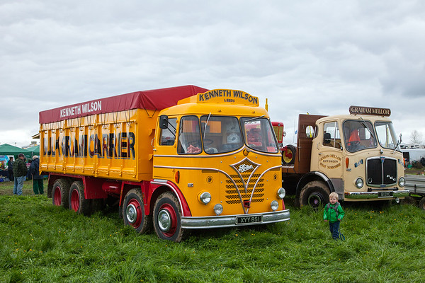 Scammell Rally at Ackworth, 29th April 2018