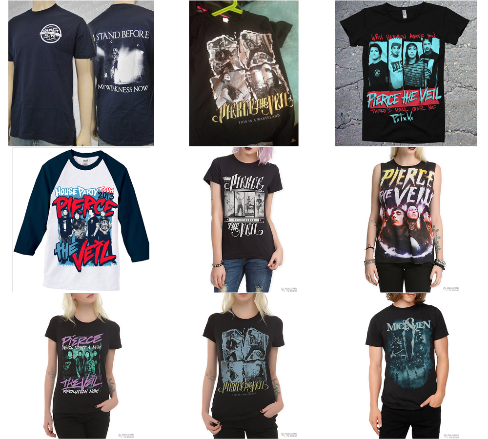 adam elmakias photos on band merch