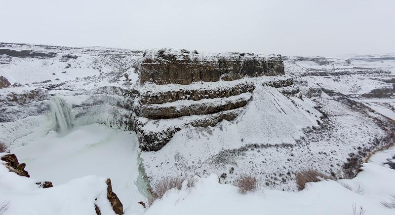 Palouse Falls Frozen