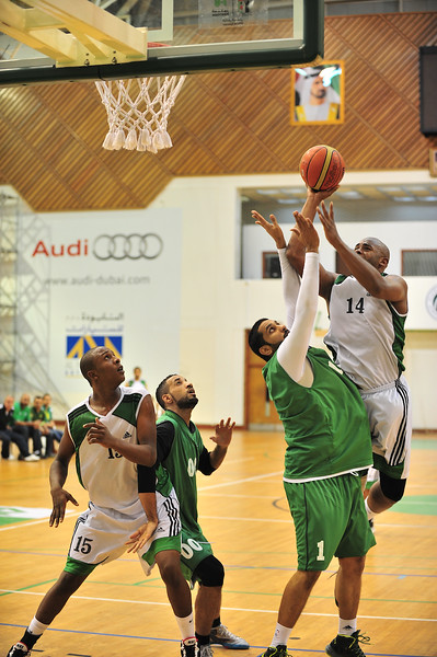 Al-Nasser vs Al-Shabab Dubai Basketball Friendly