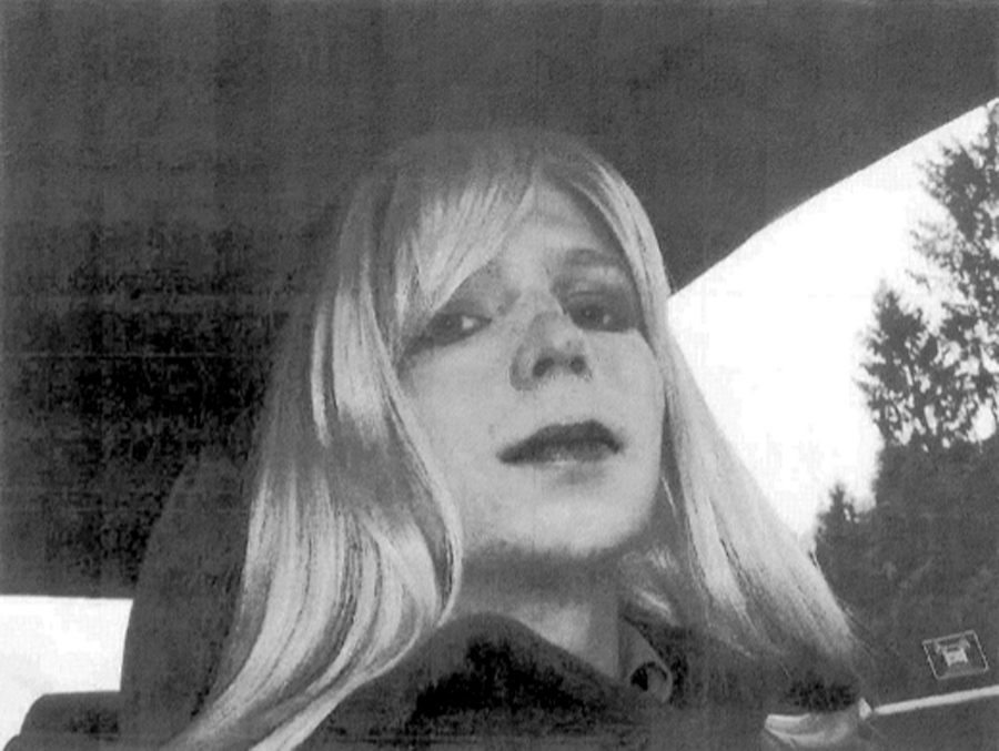 ". <p><b> Convicted Wikileaks patsy Bradley Manning announced that he self-identifies as a woman and henceforth wants to be known as � </b> <p> A. Chelsea  <p> B. Gwyneth  <p> C. Mrs. Affleck  <p><b><a href=\'http://www.twincities.com/national/ci_23949733/manning-lawyer-gives-more-details-gender-change\' target=""_blank\"">HUH?</a></b> <p>    (AP Photo/U.S. Army)"