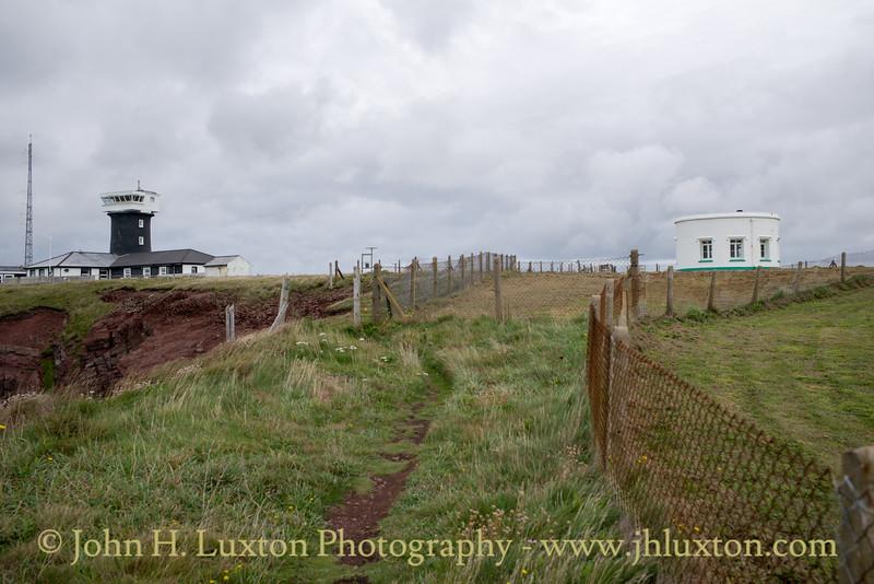 St Ann's Head Lighthouse, Pembrokeshire, Wales - August 23, 2018