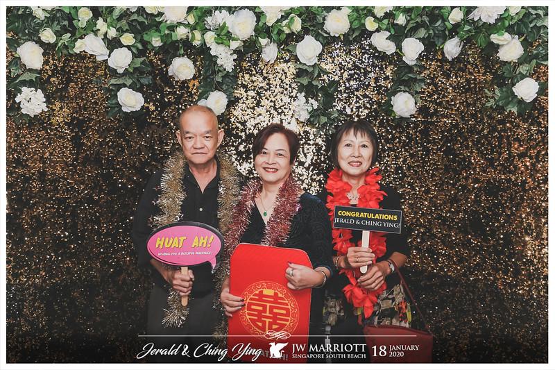 Wedding of Jerald & Ching Ying | © www.SRSLYPhotobooth.sg